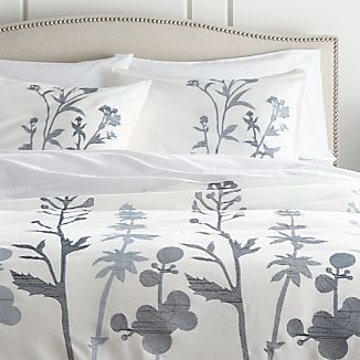 Woodland Blue King Duvet Cover