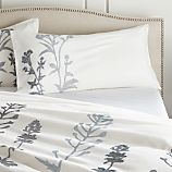 Set of 2 Woodland Blue King Pillow Shams