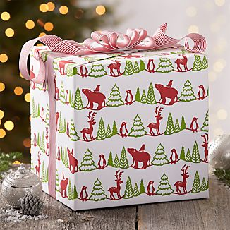 Woodland Critter Gift Wrap