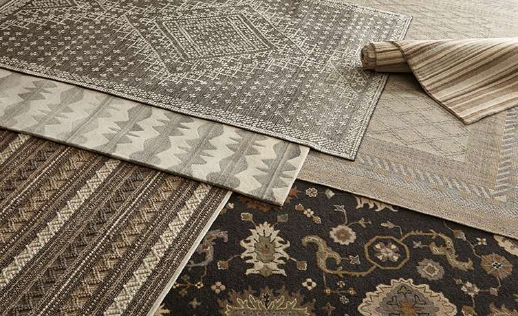 Multiple Wool Rugs