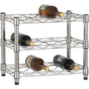 Work 12-Bottle Stacking Wine Rack - Work...