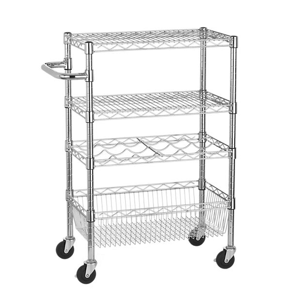 Work Utility Cart with Handle