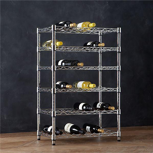 Work 36-Bottle Wine Rack