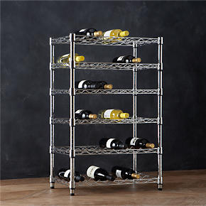 Work 36-Bottle Wine Rack - Work 36-Bottle...