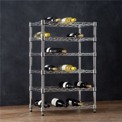 Work 36-Bottle Wine Rack