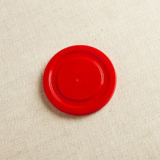 Red Working Glass Lid