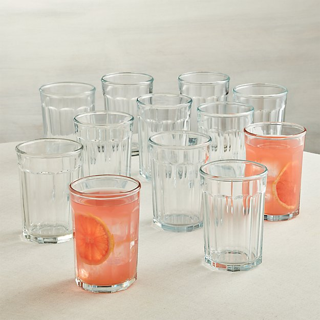 Set of 12 Large Working Glasses