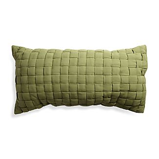 Woven Green Hammock Pillow