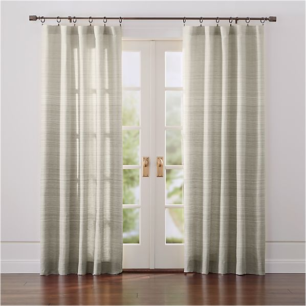 Curtains crate and barrel ~ Decorate the house with beautiful curtains