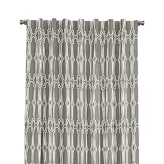 "Wrought Iron 48""x84"" Curtain Panel"