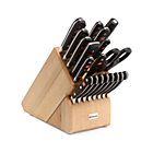 Wüsthof Classic 20-Piece Knife Block Set.