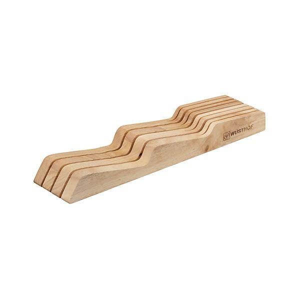 Wüsthof ® In Drawer 7 Slot Knife Block