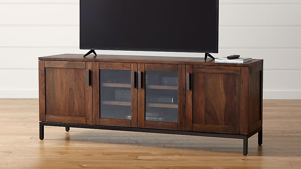 Wyatt 72 Quot Media Console Crate And Barrel