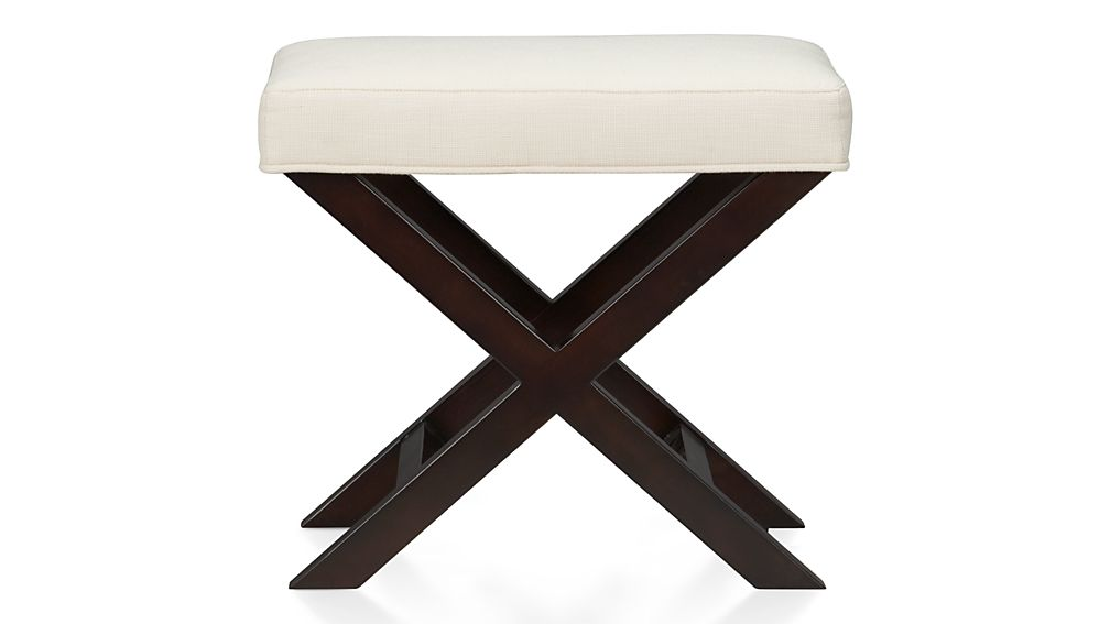 Crate And Barrel Vanity Stool