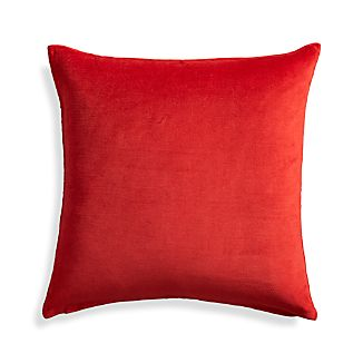 "Xander Red 18"" Holiday Pillow"