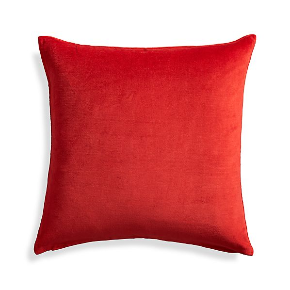 Xander Red 18 Quot Holiday Pillow Crate And Barrel