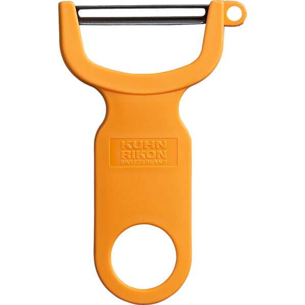 Kuhn Rikon Orange Y Peeler