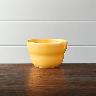 "Yellow 4"" Bowl"