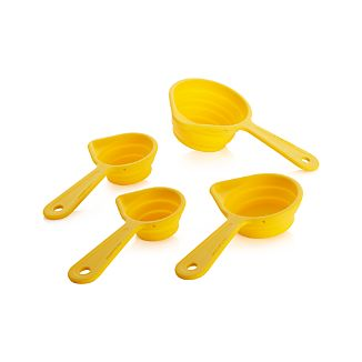 Yellow Measuring Cups Set of 5