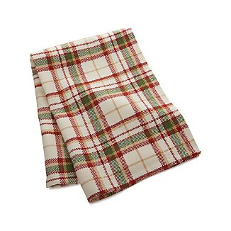 Yosemite Autumn Plaid Dish Towel