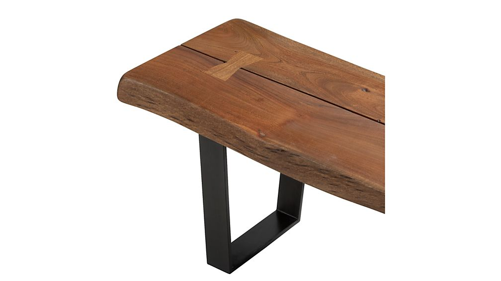 Yukon Small Coffee Table-Bench