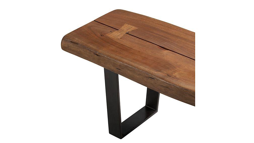 Yukon Small Coffee Table-Bench