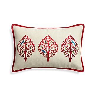 "Yuletide 20""x13"" Holiday Pillow"