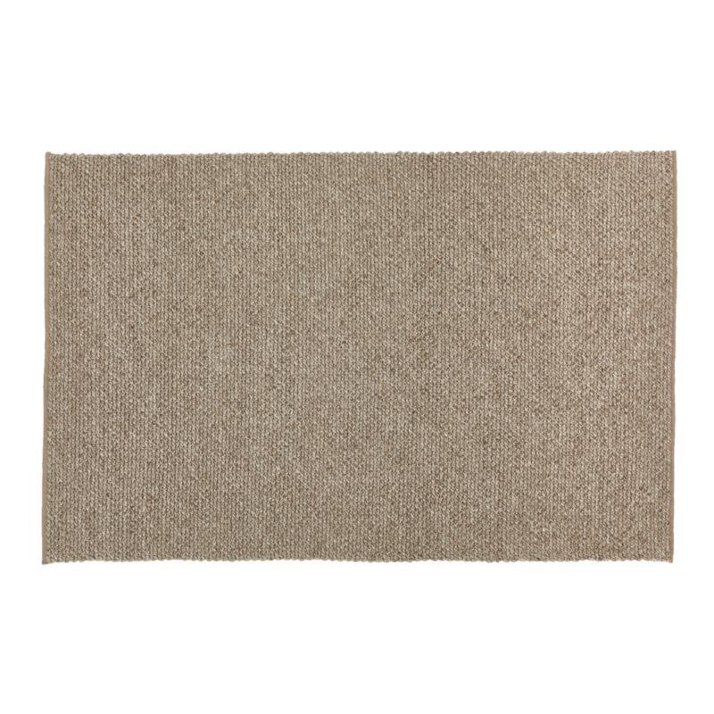 Yvonne Grey Wool-Blend 5'x8' Rug