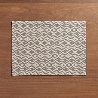 Zahara Grey Placemat