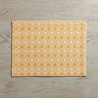 Zahara Yellow Placemat