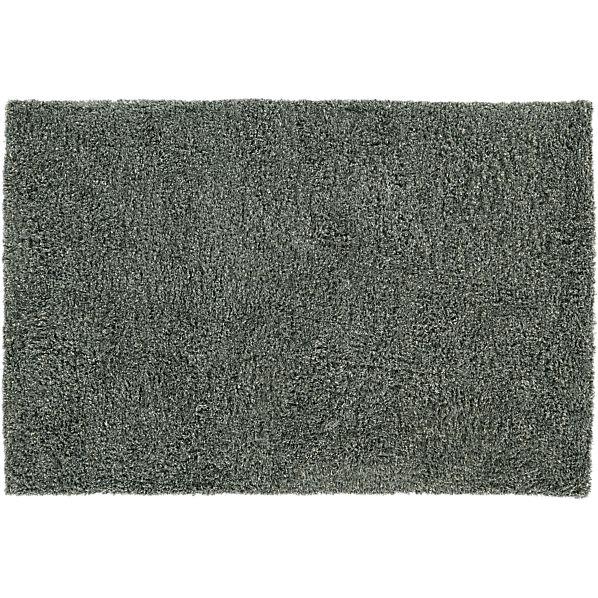 Zia Grey 9x12 Shag Rug