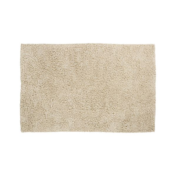 Zia Natural 6'x9' Shag Rug
