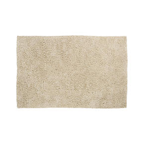 Zia Natural 8x10 Shag Rug - Natural Rug