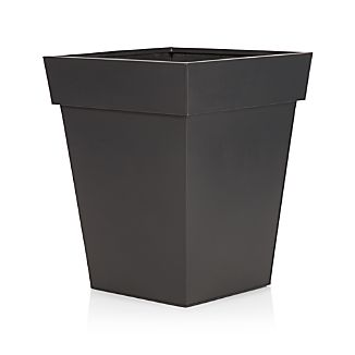 Zinc Large Square Planter