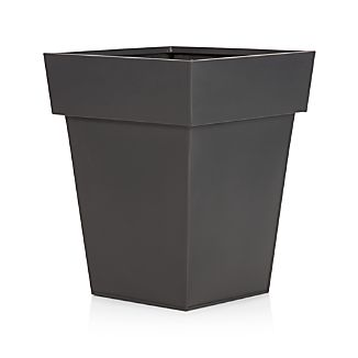 Zinc Small Square Planter