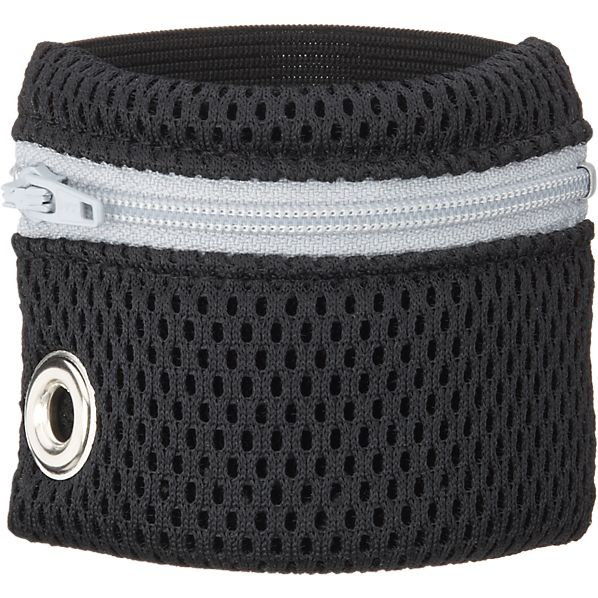 Grey Zip Wristband