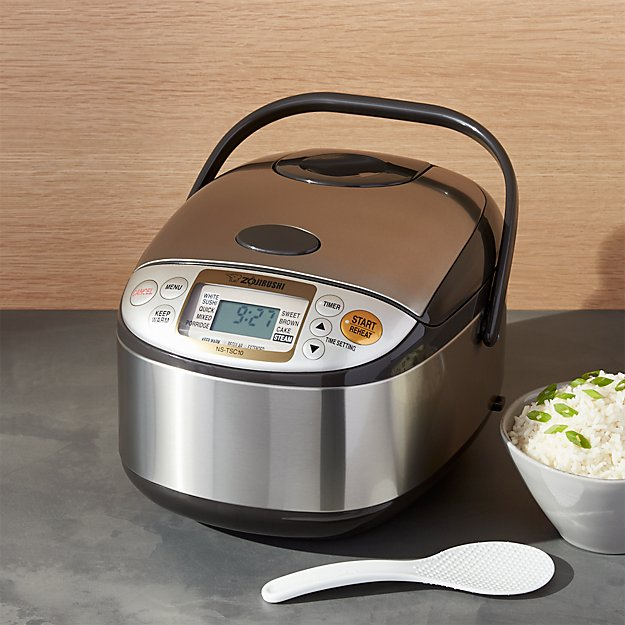 Zojirushi Rice Cooker Ns Tsc10xj Crate And Barrel