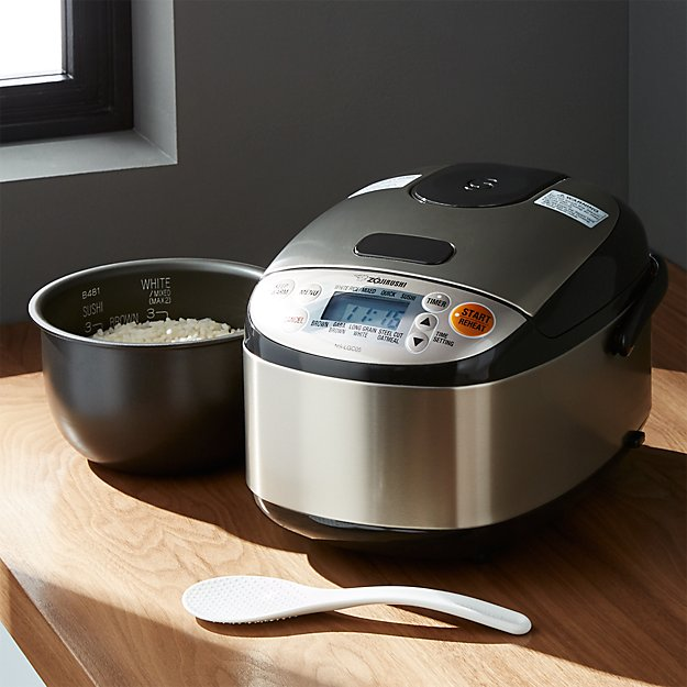 Zojirushi Rice Cooker 3 Cup Crate And Barrel