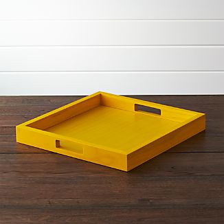 Zuma Yellow Tray