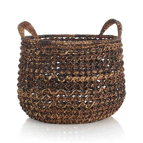 Large Zuzu Basket with Handle