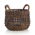 Medium Zuzu Basket with Handle.