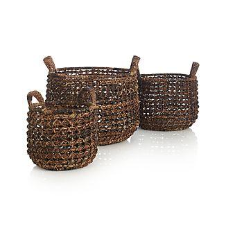 Zuzu Baskets with Handles