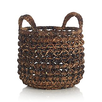 Small Zuzu Basket with Handle
