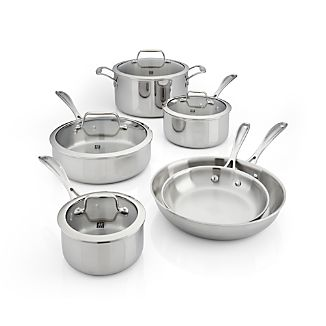 ZWILLING ® J.A. Henckels VistaClad 10-Piece Cookware Set