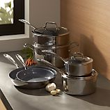 ZWILLING ® J.A. Henckels VistaClad Ceramic Non-Stick 10-Piece Cookware Set