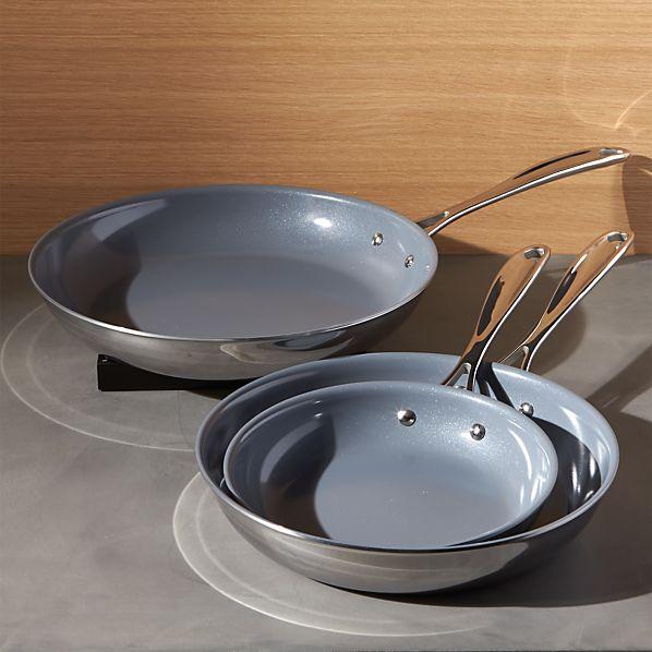 ZWILLING ® J.A. Henckels VistaClad Ceramic Non-Stick Fry Pans