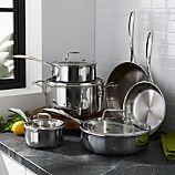 ZWILLING ® J.A. Henckels VistaClad 10-Piece Cookware Set