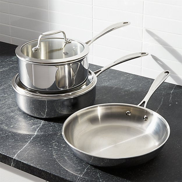 ZWILLING ® J.A. Henckels VistaClad Stainless Steel 5-Piece Cookware Set