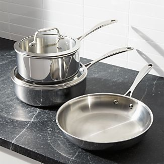 ZWILLING ® J.A. Henckels VistaClad Stainless Steel 5-Piece Cookware Set