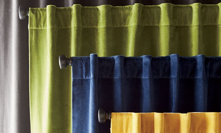 curtains curtain hardware crate and barrel. Black Bedroom Furniture Sets. Home Design Ideas